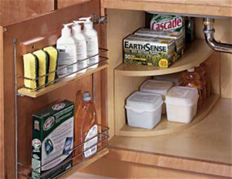Corner Kitchen Sink Storage by 11 Ways To Organize A Sink Organizing Made 11