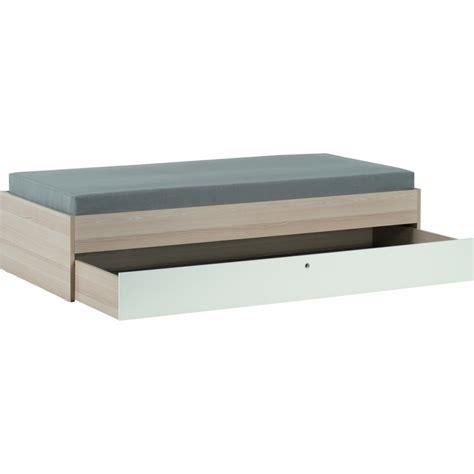 lit tiroir 90 lit enfant spot de la marque vox en bois clair