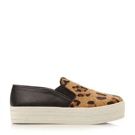 steve madden leopard sneakers steve madden bubah sm slip on fashion sneakers in animal