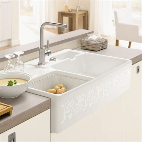 villeroy and boch kitchen sink villeroy boch butler bowl sink with pop up waste
