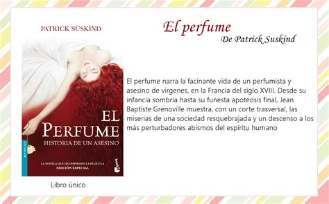 el perfume monografias el perfume monografias el contrabajo patrick suskind pdf