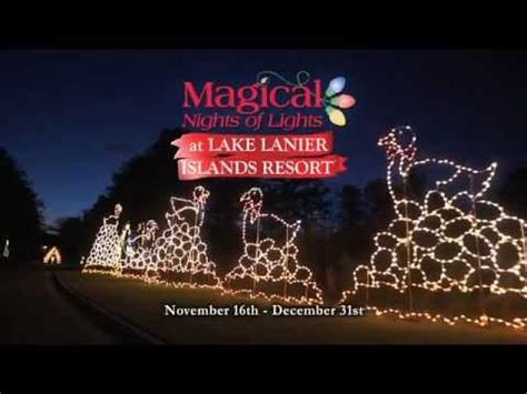 Discounts Magical Nights Of Lights Winter Adventure At Lake Lanier Lights Coupon