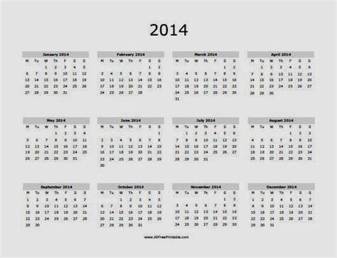 free calendar 2014 printable printable calendar 2014