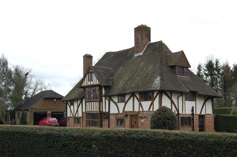 half timbered house plans