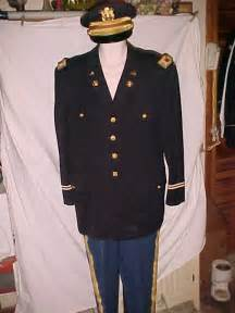 set army blue vintage us army officer transportation dress blue