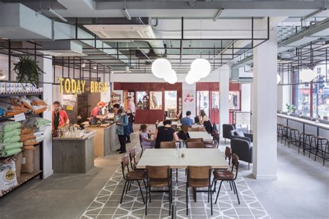 design cafe jayanagar 1st block co working space bakery cafe by gort scott london uk