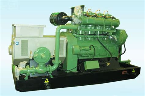 120kw biomass generator set straw gas generator unit