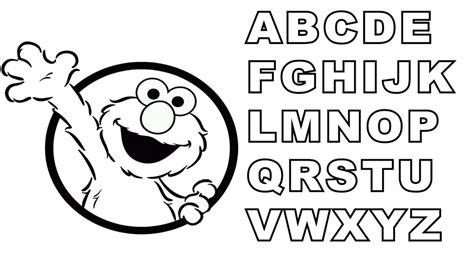 elmo coloring pages alphabet elmo alphabet coloring pages color on pages coloring