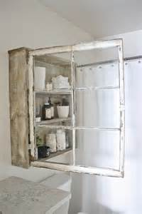 Can easily and effortlessly reuse the old panes to create a bathroom