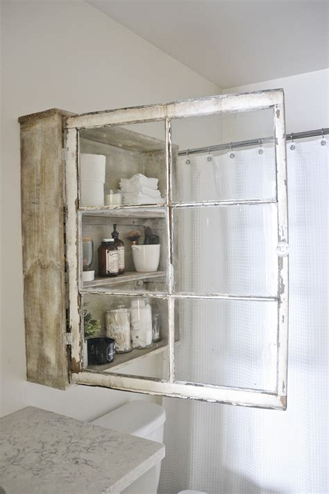 Bathroom Mirror Cabinet Ideas by Diy Decorating Ideas Using Old Windows