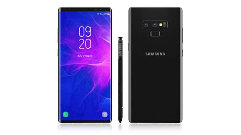 samsung galaxy note 9 specs are here gamengadgets