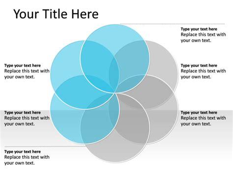 6 circle venn diagram powerpoint slide venn diagram blue 6 circles pl134