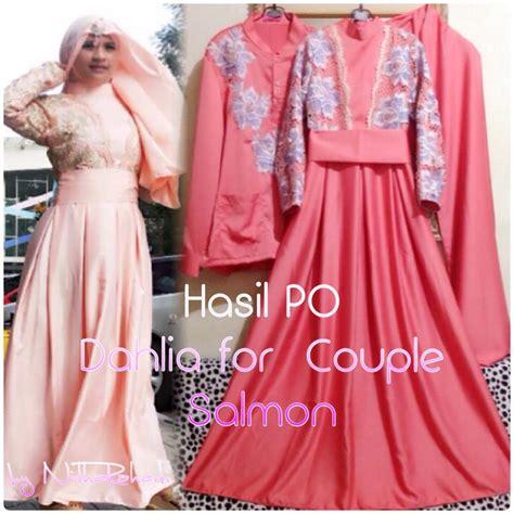 Gamis Azalea Dress By Butik gamis modern outlet nurhasanah outlet baju pesta muslimah