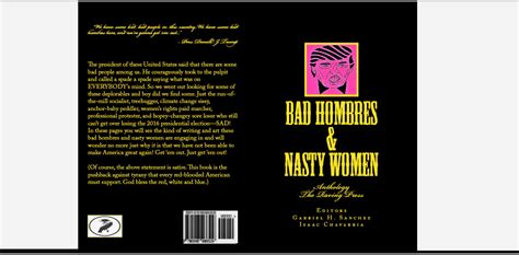 the resistance cookbook and bad hombres in the kitchen b w books the raving press bad hombres anthology by
