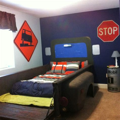 truck kids bed bed room 69 chevy truck bed kids room ideas pinterest