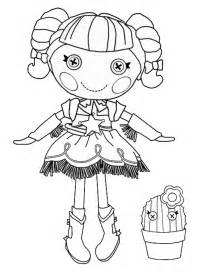 lalaloopsy coloring pages free coloring pages of lalaloopsy