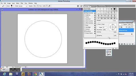 tutorial photoshop newbie newbie know how photoshop dotted circle tutorial youtube
