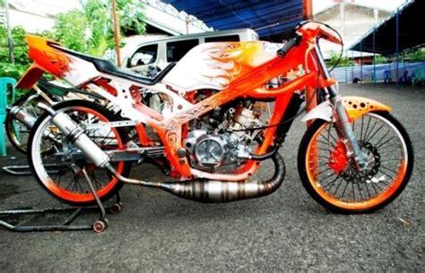 kumpulan gambar motor drag keren motor modifikasi