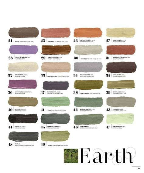 earth tone paint colors earth tone colors c o l o r ideas pinterest earth
