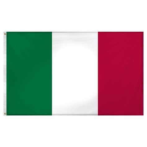 Best Stores For Home Decor italy flag 3ft x 5ft superknit polyester