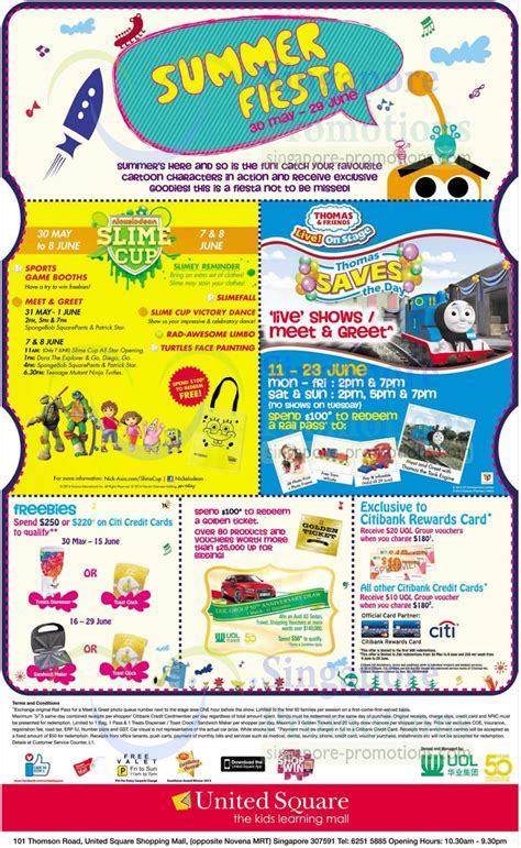 united square new year promotion united square summer promotions activities 30 may