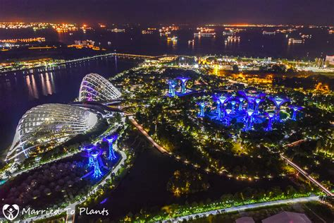The Time Garden by Tour Of Gardens By The Bay In Singapore