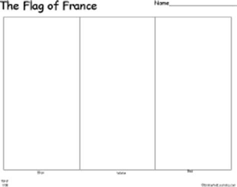 flag of france printout enchantedlearning com