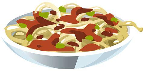 pasta clipart free vector graphic pasta spaghetti italian bowl