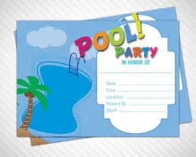 pool invitations templates free gangcraft net
