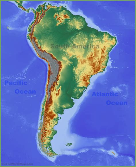 interactive physical map of south america interactive physical map of america wall hd 2018