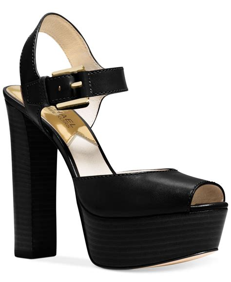 michael kors dress sandals michael kors michael platform dress sandals in