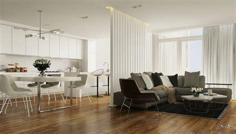 open plan kitchen diner lounge interior design ideas