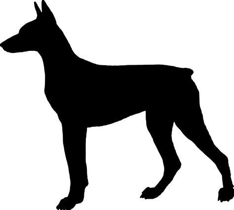 puppy silhouette silhouette