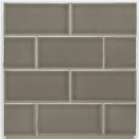 Tiles For Backsplash Kitchen H Line 3x6 Glossy Subway Tile Pearl For Uni