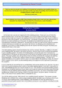 template groom speech http webdesign14 com