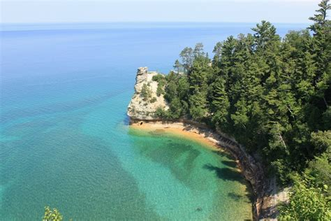 miners castle breathtaking views of pictured rocks