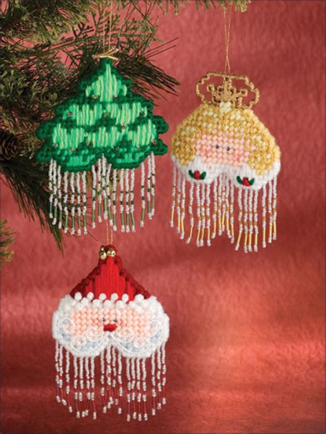 beaded christmas decorations free patterns beaded ornaments