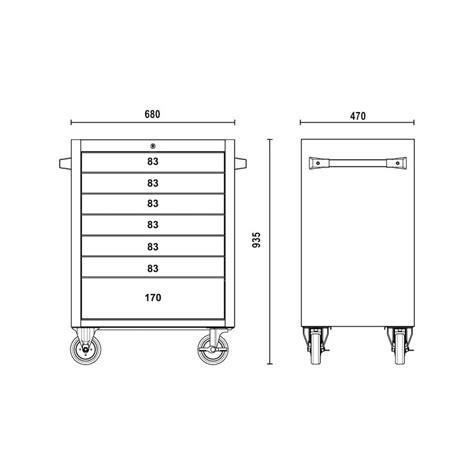 cassettiere porta attrezzi cassettiera porta attrezzi in acciaio inox beta c04 tss 7