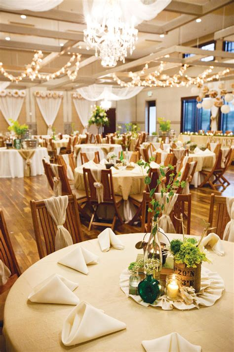 Our Story Wedding Hostess With The Mostess 174 Wedding Rustic Centerpieces