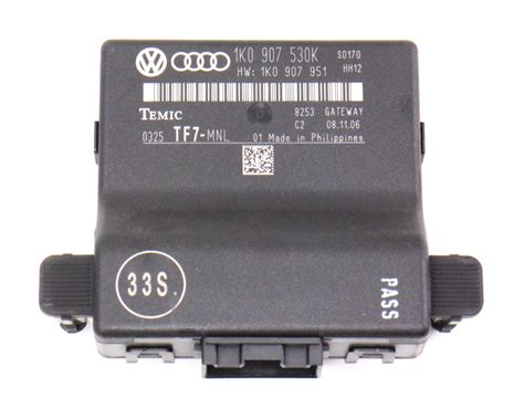 Abs Modulator 8p Audi A3 Vw multiplex gateway can module audi a3 vw jetta golf gti mk5 1k0 907 530 k carparts4sale inc