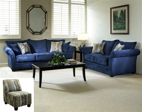 Blue Living Room Sets royal blue living room furniture modern house