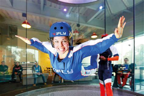 In Door Sky Diving by Indoor Skydiving In 60 Seconds