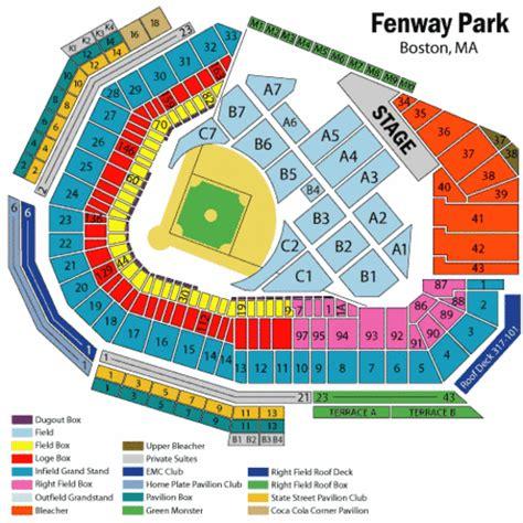 how many seats at fenway park simpdorletalk fenway park concert seating chart