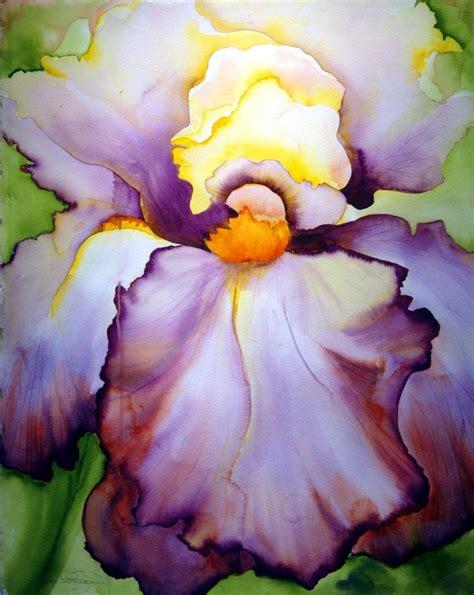 watercolor tutorial iris iris by georgia o keeffe art georgia o keeffe
