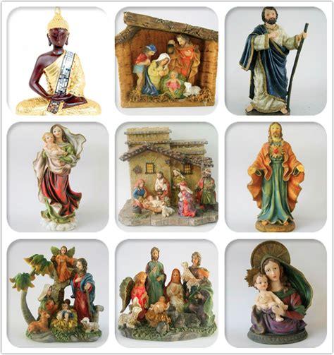 bobblehead nativity set polyresin religious scupture pewter nativity set statue