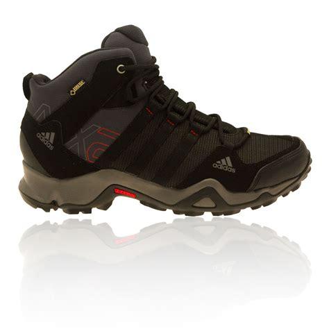 Adidas Outdoor Tex Ax2 Mid All Black adidas mens black ax2 mid tex waterproof outdoor