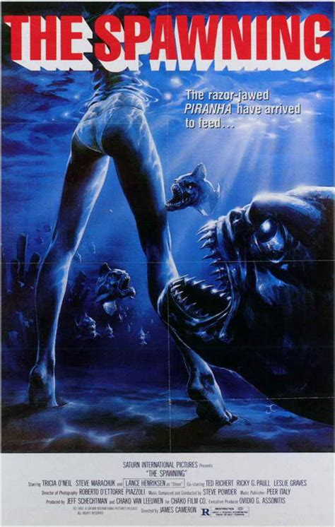 piranha 2 the spawning posters from poster shop