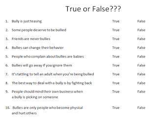 printable bullying quiz pin by tanya keene on bullying pinterest
