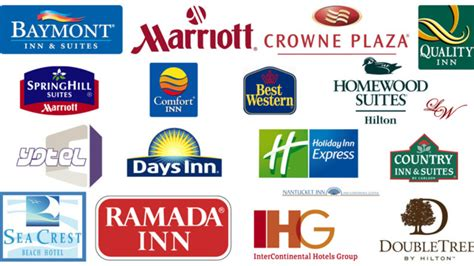 brand hotels hotel chain logos gallery