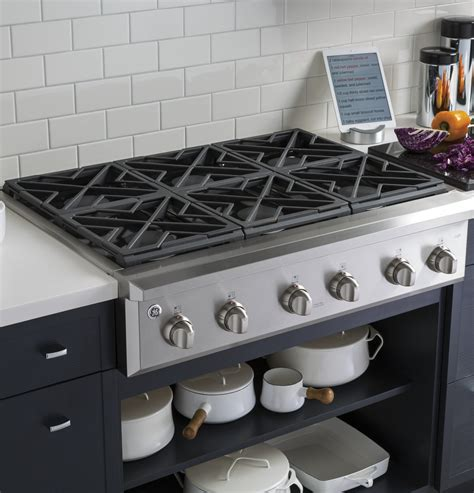 Best Cooktop Ranges - cgu366sehss ge cafe series 36 quot gas rangetop stainless